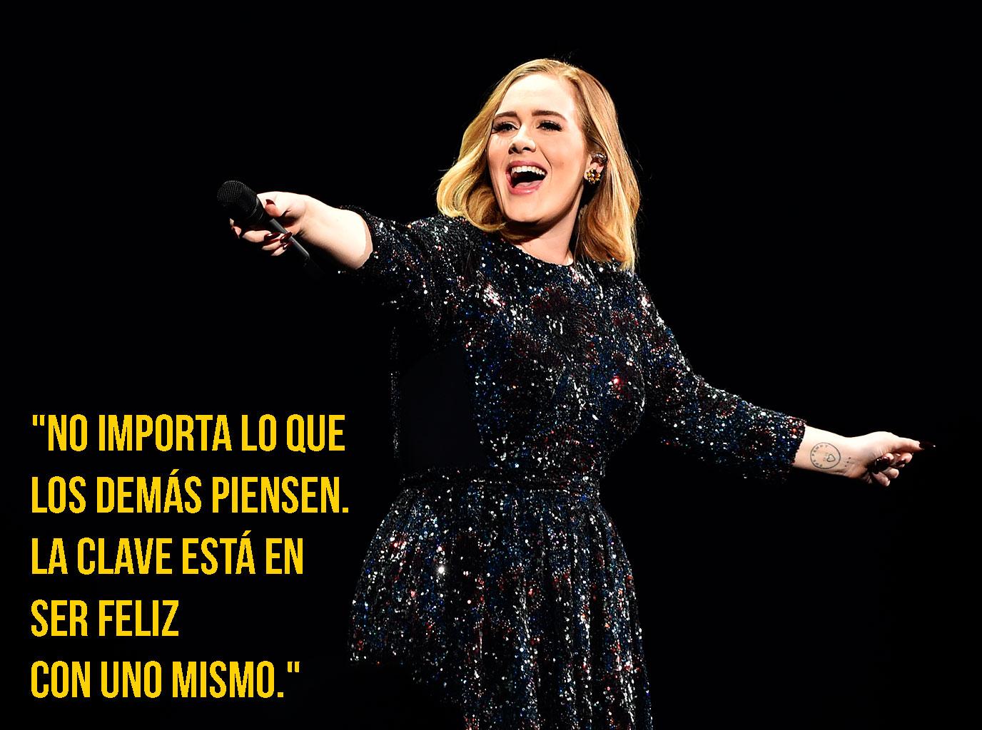 Galería: 15 Frases de Adele que te harán amarla aún más