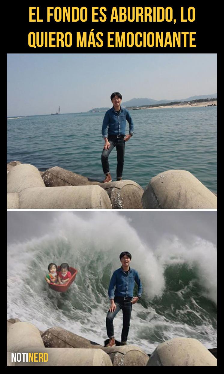 Galería: Asiáticos maestros del Photoshop trolleando a personas en internet [Vol. 2]