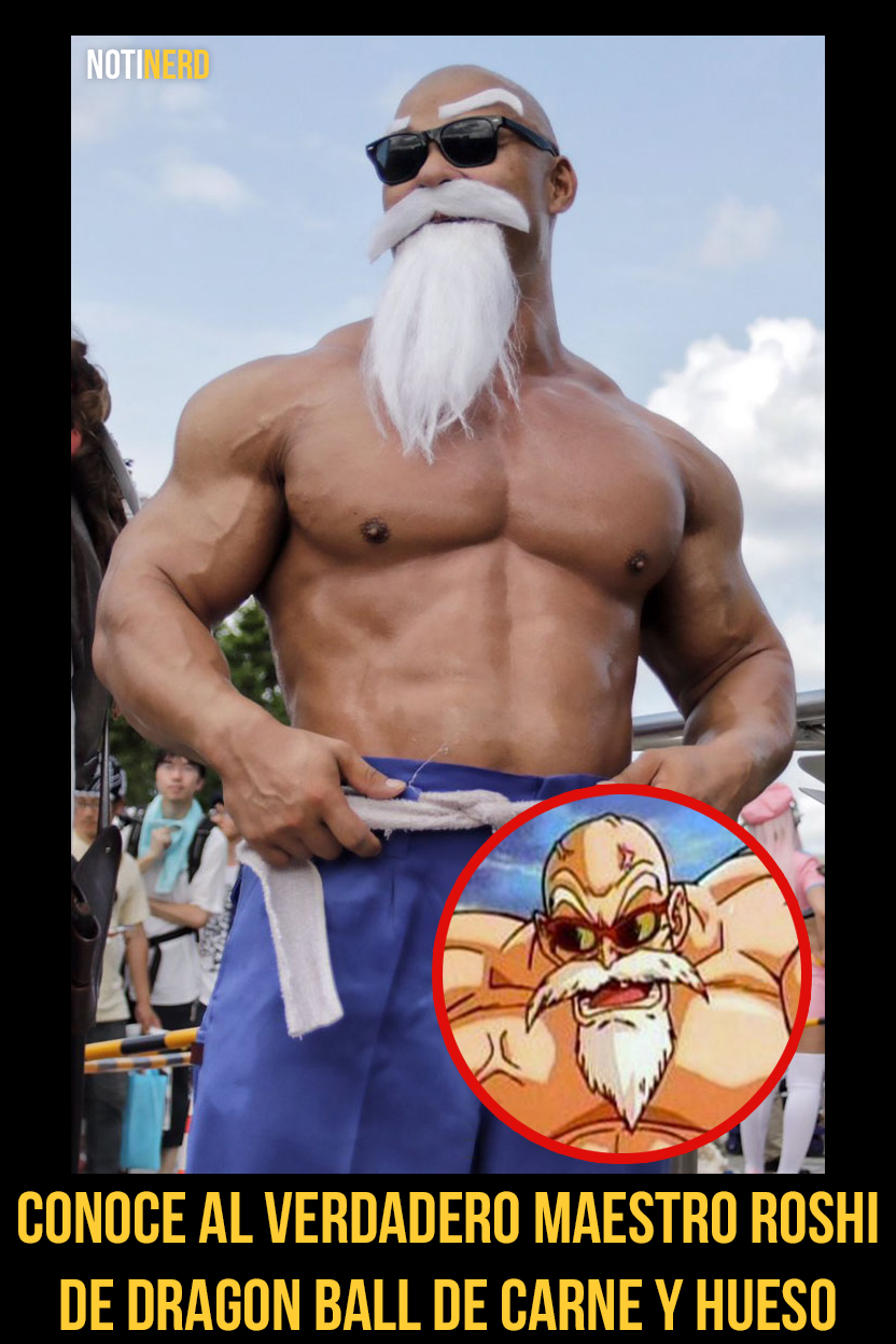 Galería: Conoce al verdadero Maestro Roshi de Dragon Ball de carne y hueso