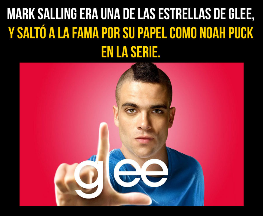 ¿Por qué se SUICIDÓ Mark Salling actor de GLEE?